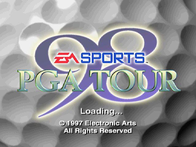 PGA Tour 98 title screen image #1