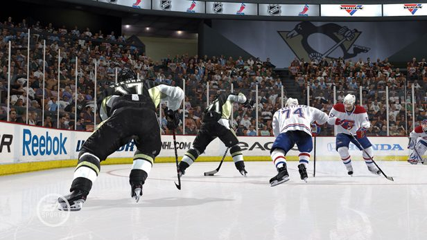 NHL 10 in-game screen image #2