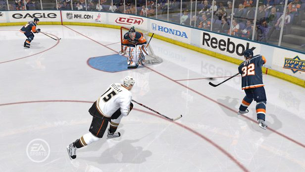 NHL 10 in-game screen image #1