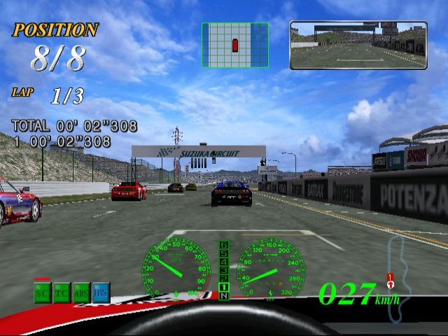 F355 Challenge - Passione Rossa  in-game screen image #1