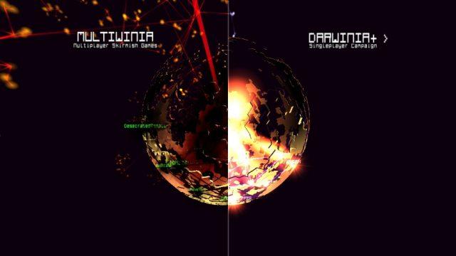 Darwinia+ title screen image #1