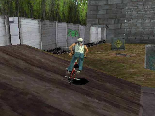 Dave Mirra Freestyle BMX  in-game screen image #1