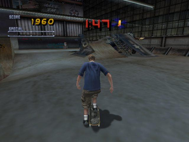 Tony Hawk's Pro Skater 2 in-game screen image #1