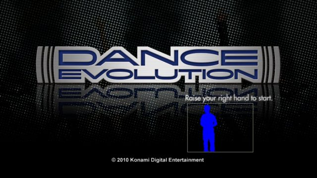 Dance Evolution  title screen image #1