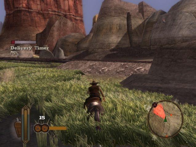 GUN in-game screen image #1