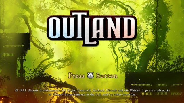 Outland title screen image #1