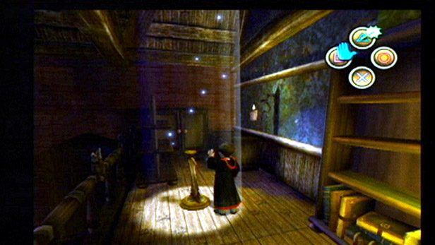 Harry Potter and the Chamber of Secrets  in-game screen image #1
