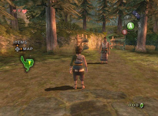 The Legend of Zelda: Twilight Princess  in-game screen image #1
