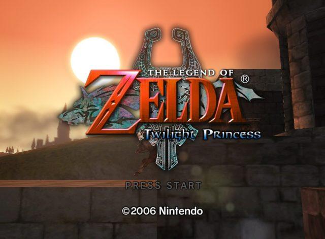 The Legend of Zelda: Twilight Princess  title screen image #1