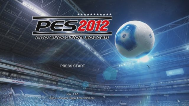 Pro Evolution Soccer 2012  title screen image #1