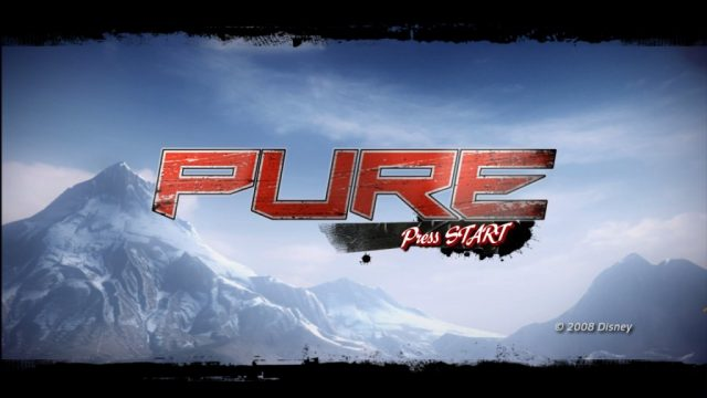 Pure title screen image #1