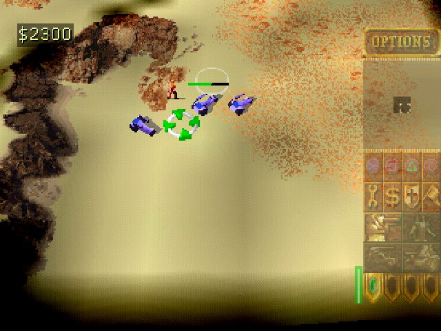 Dune 2000  in-game screen image #1