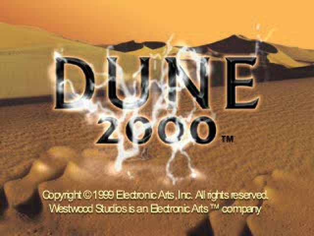 Dune 2000  title screen image #1