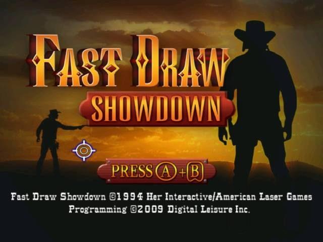 Fast Draw Showdown title screen image #1
