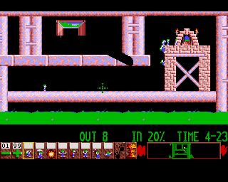 Lemmings in-game screen image #1