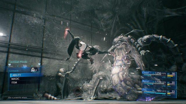 Final Fantasy VII Remake in-game screen image #4