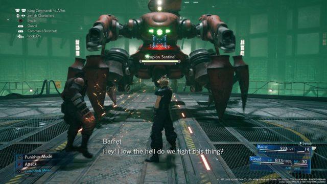 Final Fantasy VII Remake in-game screen image #1