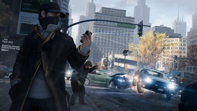 WATCH_DOGS  in-game screen image #1
